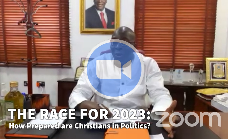 WATCH NOW! THE RACE FOR 2023: How Prepared are Christians in Politics?