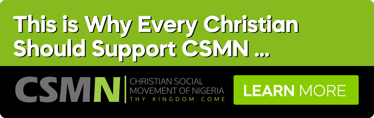 THIS IS WHY EVERY CHRISTIAN SHOULD SUPPORT CSMN …